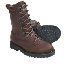 "Browning 8"" Hunting Boots - Waterproof, Insulated, Leather (For Women) in Brown - Closeouts"