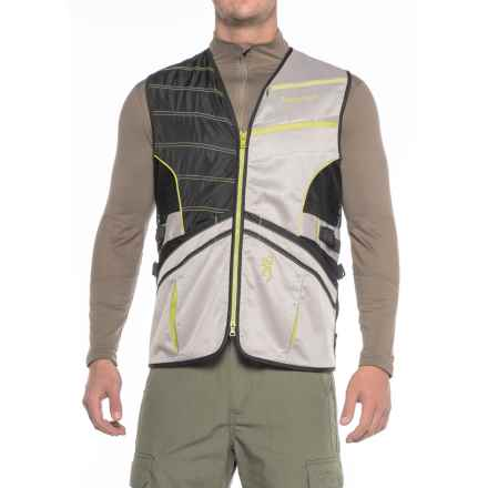 Browning Ace Shooting Vest (For Men) in Lime - Closeouts