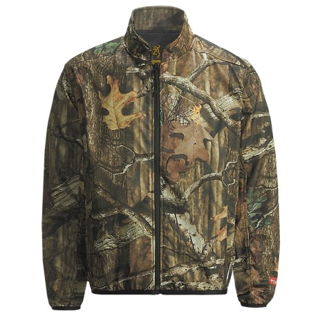 Browning AddHeat Camo Soft Shell Jacket (For Men) in Mossy Oak Break-Up Infinity