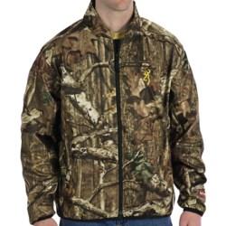 Browning AddHeat Camo Soft Shell Jacket - Windproof, Power Pack (For Big Men) in Mossy Oak Break-Up Infinity