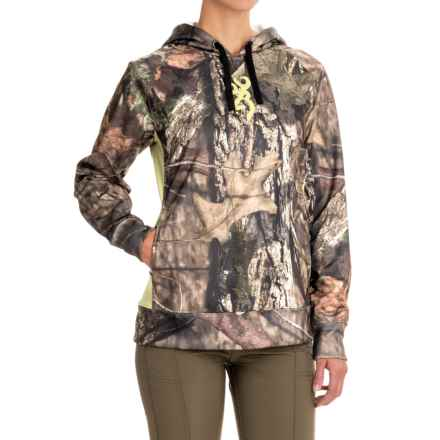 Browning Arches Hoodie (For Women) in Mossy Oak Break Up Country - Closeouts