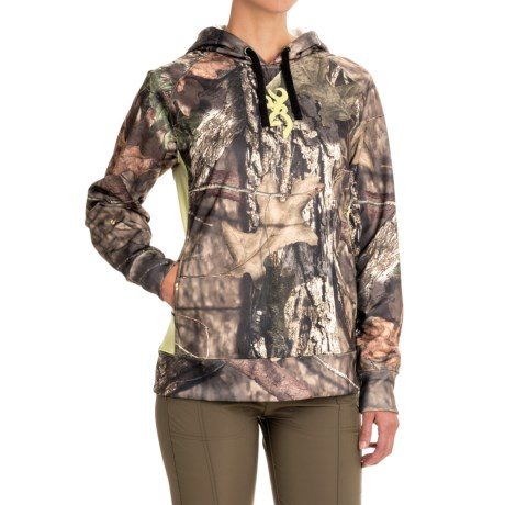 Browning Arches Hoodie (For Women) in Mossy Oak Break Up Country
