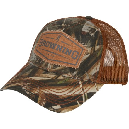 bf6a797489d Browning Atlus Realtree Max-5® Trucker Hat (For Men) in Camo