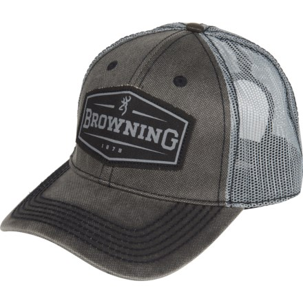 cc51a601 Browning Atlus Trucker Hat (For Men) in Grey