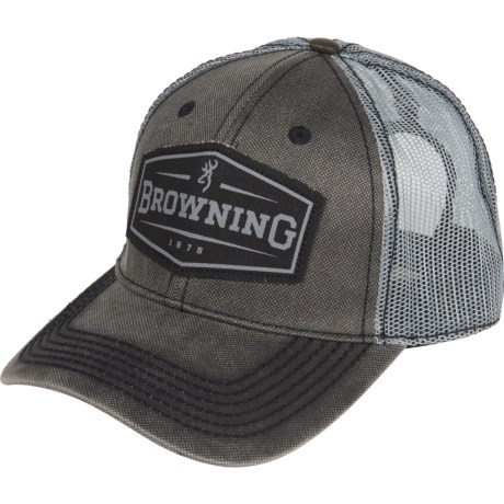 6e377bc2 Browning Atlus Trucker Hat (For Men) - Save 46%