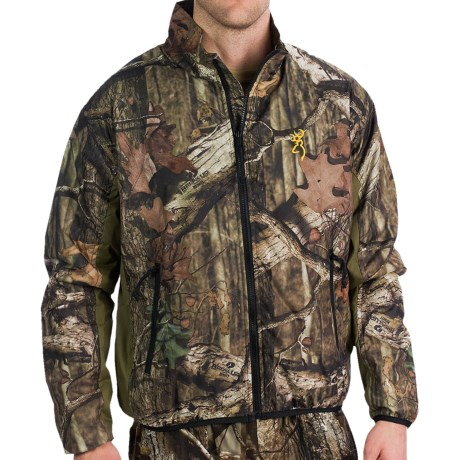 Browning Backcountry Camo Jacket - Insulated (For Men) in Mossy Oak Break-Up Infinity