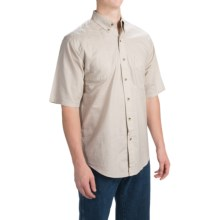 Browning Badger Creek Shooting Shirt - Short Sleeve (For Men) in Sand - Closeouts