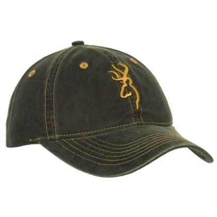 Browning Basic Cap (For Men) in Pebble - Closeouts