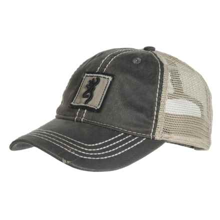 Browning Bayou Baseball Cap (For Men) in Rhino Charcoal/Tan - Closeouts
