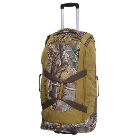 Browning Bear 6000 Wheeled Duffel Bag in Realtree Ap Hd - Closeouts