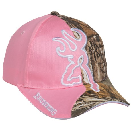 eabf2785aa60d ... france browning big buckmark baseball cap for women in realtree xtra  pink 46d09 f5bd1