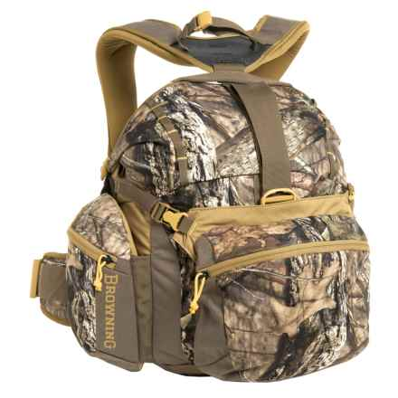 Browning Billy 1700 Lumbar Backpack in Mossy Oak Country/Teak/Desert Sage - Closeouts