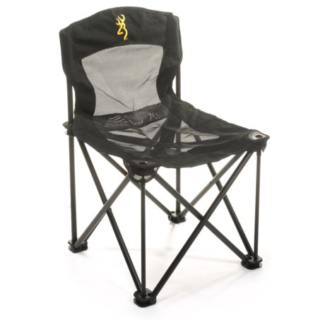 Browning Black Bear Portable Chair in Black
