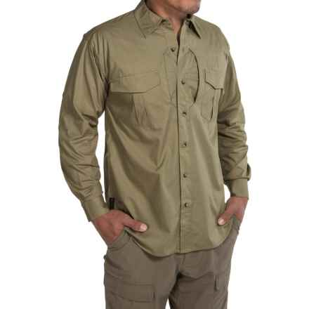 Browning Black Label Tactical Shirt - Cotton Blend, Long Sleeve (For in Forest - Closeouts
