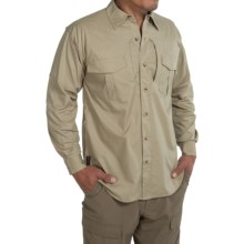 Browning Black Label Tactical Shirt - Cotton Blend, Long Sleeve (For in Sand - Closeouts