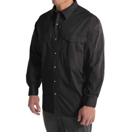 Browning Black Label Tactical Shirt - Long Sleeve (For Big Men) in Black - Closeouts