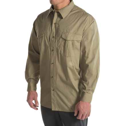 Browning Black Label Tactical Shirt - Long Sleeve (For Big Men) in Forest - Closeouts