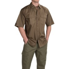 Browning Black Label Tactical Shirt - Short Sleeve (For Men) in Desert Brown - Closeouts