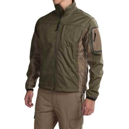 Browning Black Label Tracer Soft Shell Jacket (For Big Men) in Forest - Closeouts