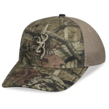 Browning Breeze Mesh-Back Cap in Mossy Oak Infinity/Tan - Closeouts