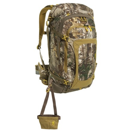 1ac6ed0726efb Browning Buck 2500 Backpack in Realtree Xtra/Desert Sage/Teak - Closeouts