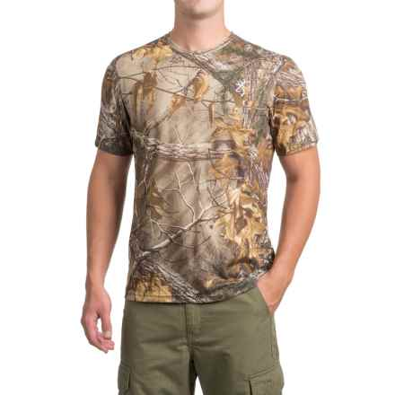 Browning Buck Flag T-Shirt - Short Sleeve (For Men and Big Men) in Realtree Xtra - Closeouts