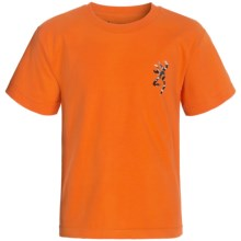 Browning Buckmark T-Shirt - Short Sleeve (For Little and Big Boys) in Orange/Multi/Camo - Closeouts