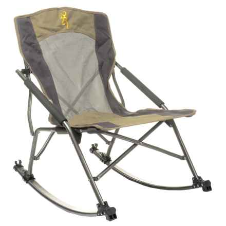 Browning Cabin Rocking Chair in Khaki/Coal - Closeouts