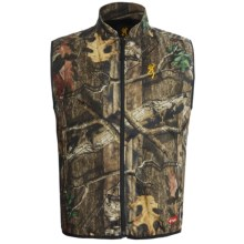 Browning Camo AddHeat Vest with AddHeat Power Pack and Control Module - Soft Shell (For Big Men) in Mossy Oak Break-Up Infinity - Closeouts