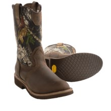 Browning Camo Wellington Boots - Waterproof (For Men) in Brown/Mossy Oak Break Up - Closeouts