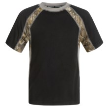 Browning Chalking T-Shirt - Short Sleeve (For Little and Big Boys) in Black - Closeouts