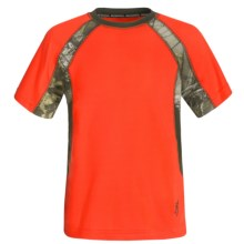 Browning Chalking T-Shirt - Short Sleeve (For Little and Big Boys) in Blaze - Closeouts