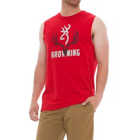 Browning Clark T-Shirt - Sleeveless (For Men) in Formula One