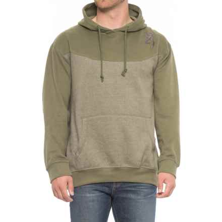 Browning Cohos Sweatshirt (For Men) in Heather Deep Lichen Green - Closeouts
