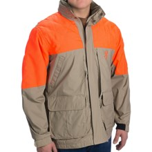 Browning Cross Country Pro Upland Hunting Jacket - Insulated (For Big Men) in Khaki/Blaze Orange - Closeouts