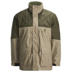 Browning Cross Country Pro Upland Hunting Jacket - Insulated (For Men) in Khaki/Blaze Orange