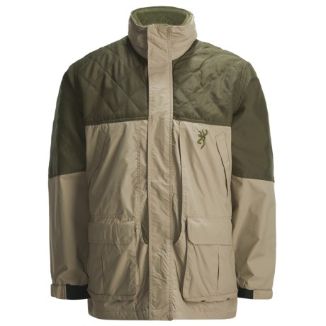 Browning Cross Country Pro Upland Hunting Jacket - Insulated (For Men) in Khaki/Olive