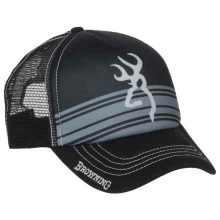 Browning Cruiser Trucker Hat (For Men) in Black - Closeouts