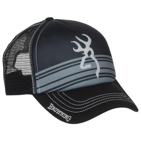 Browning Cruiser Trucker Hat (For Men) in Black