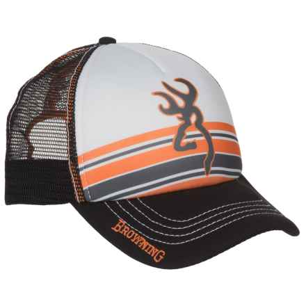 Browning Cruiser Trucker Hat (For Men) in Orange - Closeouts