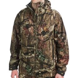 Browning Deluge HMX Jacket - Waterproof (For Big and Tall Men) in Mossy Oak Break-Up Infinity