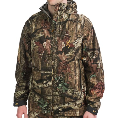 Browning Deluge HMX Jacket - Waterproof (For Big and Tall Men) in Mossy Oak Break-Up Infinity