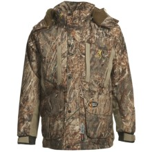 Browning Dirty Bird 4-in-1 Parka - Waterproof, Insulated (For Big Men) in Mossy Oak Duck Blind - Closeouts