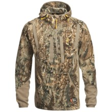 Browning Dirty Bird Fleece Pullover - Zip Neck (For Big Men) in Mossy Oak Duck Blind - Closeouts