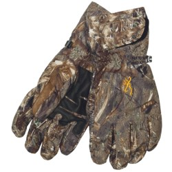 Browning Dirty Bird Gloves - Waterproof, Insulated (For Men) in Mossy Oak Duck Blind