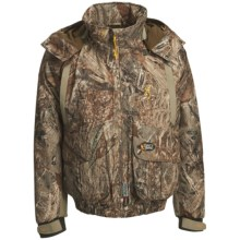 Browning Dirty Bird Insulated Wader Jacket - Waterproof, Insulated (For Big Men) in Mossy Oak Duck Blind - Closeouts