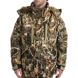 Browning Dirty Bird Parka - Waterproof, Insulated (For Big Men) in Realtree Max-4