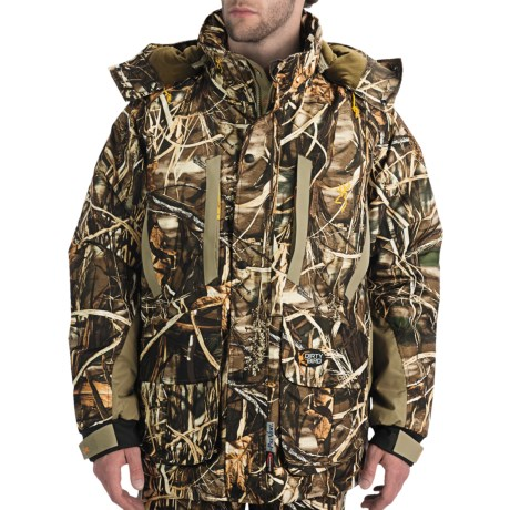 Browning Dirty Bird Parka - Waterproof, Insulated (For Men) in Realtree Max-4