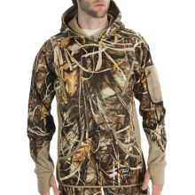 Browning Dirty Bird Smoothbore Fleece Hoodie (For Men) in Realtree Max-4 - Closeouts