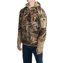 Browning Dirty Bird Smoothbore Fleece Hoodie (For Men) in Realtree Max 5 - Closeouts